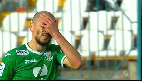 Зирка - Карпаты - 0:0. Видео матча
