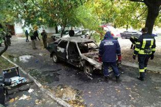 На Донетчине пьяный водитель заживо сгорел в своей машине