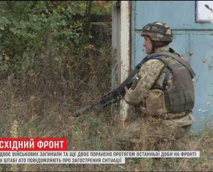 На фронті ворог веде все потужніші обстріли українських позицій