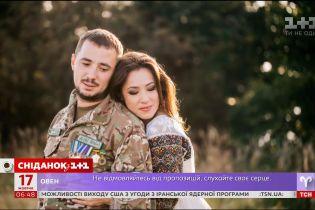 Наталка Карпа заспівала зі своїм чоловіком до Дня захисника