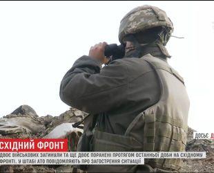 Окупант на фронті посилив обстріли українських позицій