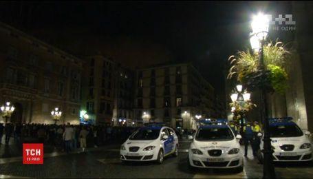 В Испании посадили двух человек, которые призвали провозгласить независимость Каталонии