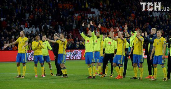 Швеція - Італія: стали відомі результати жеребкування стикових матчів ЧС-2018