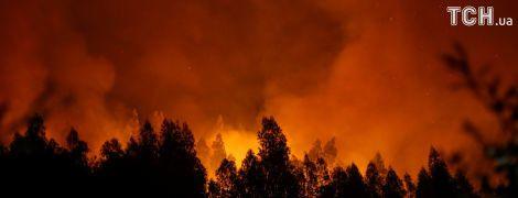 В Канаде вспыхнул лесной пожар