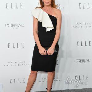 В элегантном платье и с бриллиантовыми украшениями: прекрасная Синди Кроуфорд посетила премию Elle Women In Hollywood