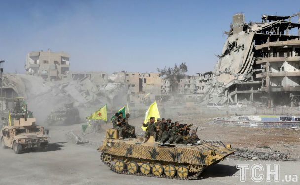 Курды и союзники выбили ІДІЛ из сирийского города Ракка