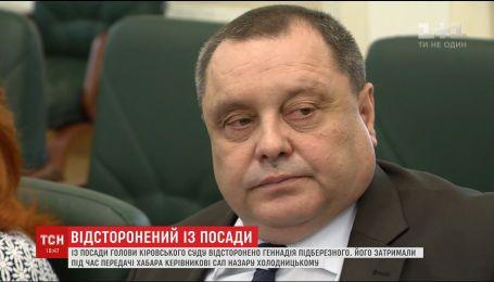 Подберезного отстранили от должности председателя Кировского райсуда Днепра по подозрению во взяточничестве