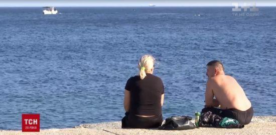В Одесі поновився пляжний сезон через бабине літо