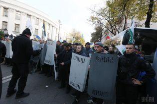 Під час мітингу під Верховною Радою пограбували нацгвардійців - Князєв