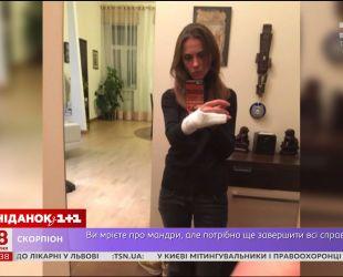 Столичні поліцейські зламали руку жінці, яка відмовилася пред'являти водійські документи