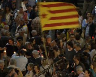 В Барселоне вспыхнули протесты против арестов, связанных с референдумом о независимости Каталонии