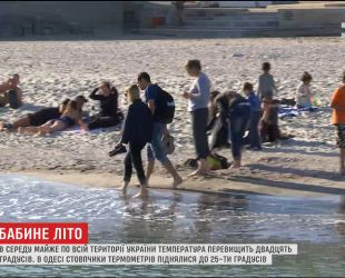 Синоптики прогнозують температуру більше 20 градусів по всій території України