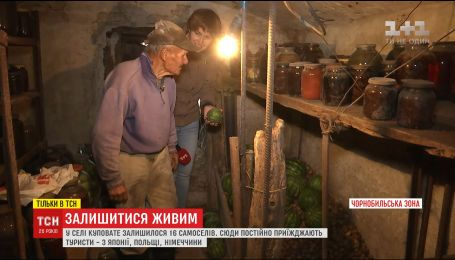 Останні самосели чорнобильської зони розповіли про своє господарство та незвичні сувеніри від туристів