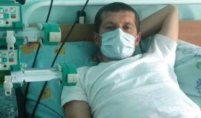 Валерій збирає кошти на необхідну трансплантацію серця