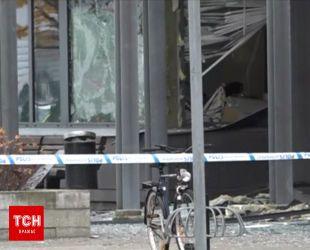 В Швеции произошел взрыв у полицейского участка