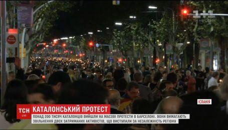 У Барселоні розгорілися нові масові протести