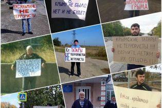 Участников одиночных пикетов в оккупированном Крыму вызывают на допрос