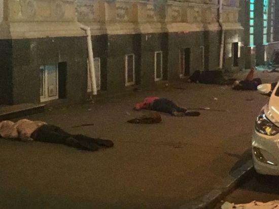 У Мережі з'явилися перші фото кривавої аварії у Харкові