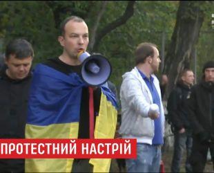 В палаточном городке возле ВР активно готовятся к рабочему дню депутатов