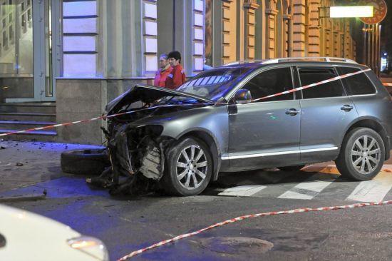 Водій Touareg зробив офіційну заяву щодо ДТП у Харкові