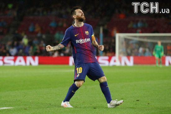 Мессі забив свій 100-й гол в єврокубках