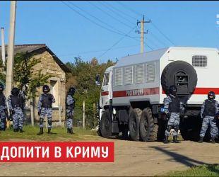 У Криму проводять масові допити, намагаючись розшукати учасників одиночних пікетів