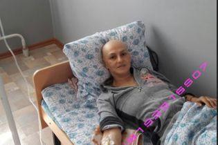 Ирина нуждается в помощи в преодолении рака груди
