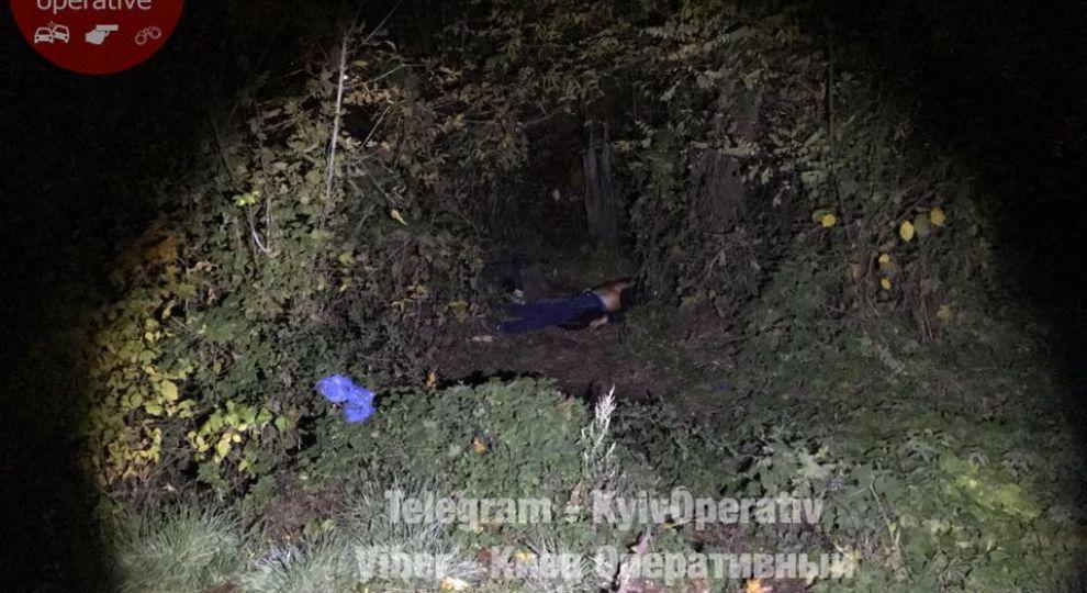 На столичній Куренівці знайшли застреленого чоловіка