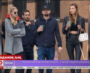 Папарацци поймали Леонардо Ди Каприо в компании украинки