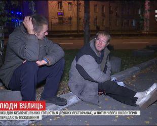 С наступлением холодов на улицах столицы в разы становится больше бездомных