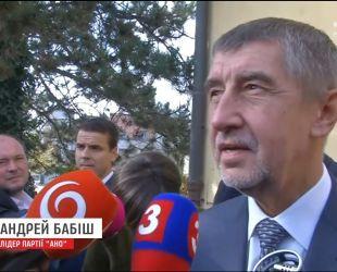 На парламентських виборах у Чехії перемогу пророкують партії медіа-магната Андрея Бабіша