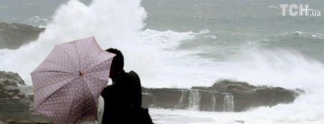 Японію накрив потужний тайфун