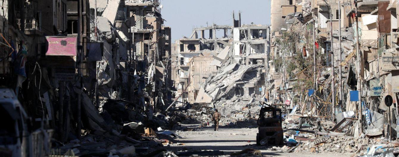 У Сирії  коаліція на чолі з США завдала авіаудар по силах Асада