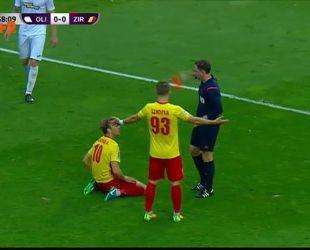 Олимпик - Зирка - 1:0. Видео матча