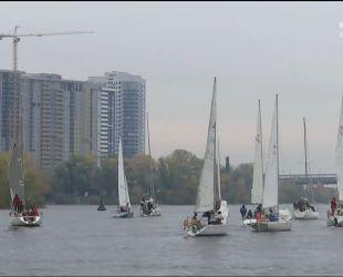 Ювілейна вітрильна регата відбулася вихідними у Києві