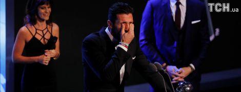 Буффон виграв дебютну нагороду Найкращому голкіперу світу від ФІФА