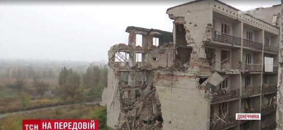 Перший подих зими на передовій: у військових біля Донецька замерзла вода