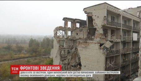 Враг более 2 десятков раз открывал огонь по украинским позициям