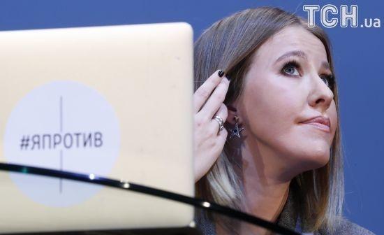 Поклонська і Собчак обмінялися уїдливими випадами через заяву про український Крим