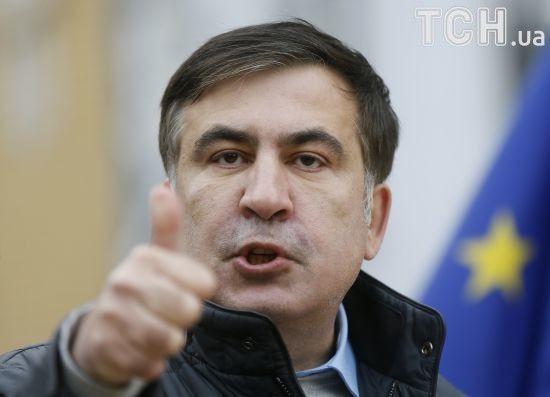 Саакашвілі заявив, що Луценко розпочав підготовку його екстрадиції до Грузії