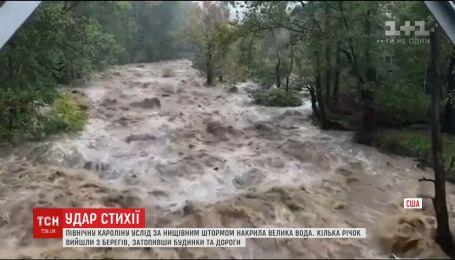 Северная Каролина страдает от мощных паводков