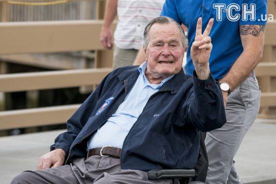 Буш-старший став фігурантом сексуального скандалу