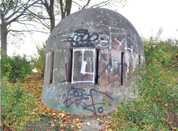 """В Праге вентиляционное отверстие заброшенного ядерного бункера превратили в робота из """"Звездных войн"""""""