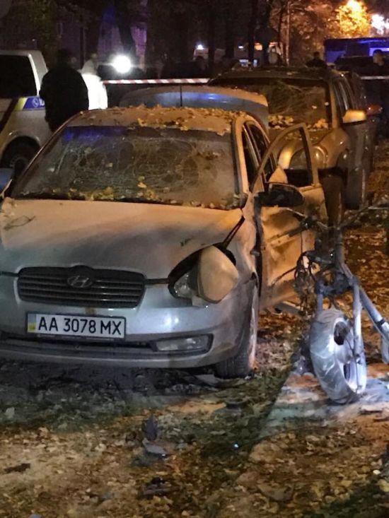 З'явилося відео перших секунд після вибуху, внаслідок якого постраждав Мосійчук