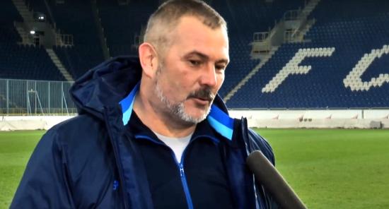 """Береза: Половина гравців """"Дніпра-1"""" повинні в майбутньому грати за збірну України"""