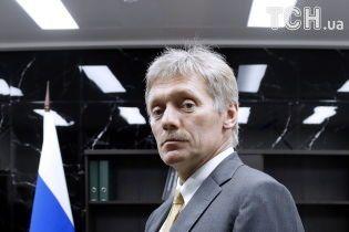 """Пєсков про приїзд Плотницького до Москви: """"Це не наше питання"""""""