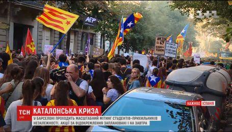 Президент Каталонии отменил выступление, в котором должен был провозгласить о независимости