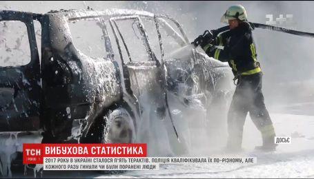 Вибух біля Espreso.TV став п'ятим в Україні з початку року