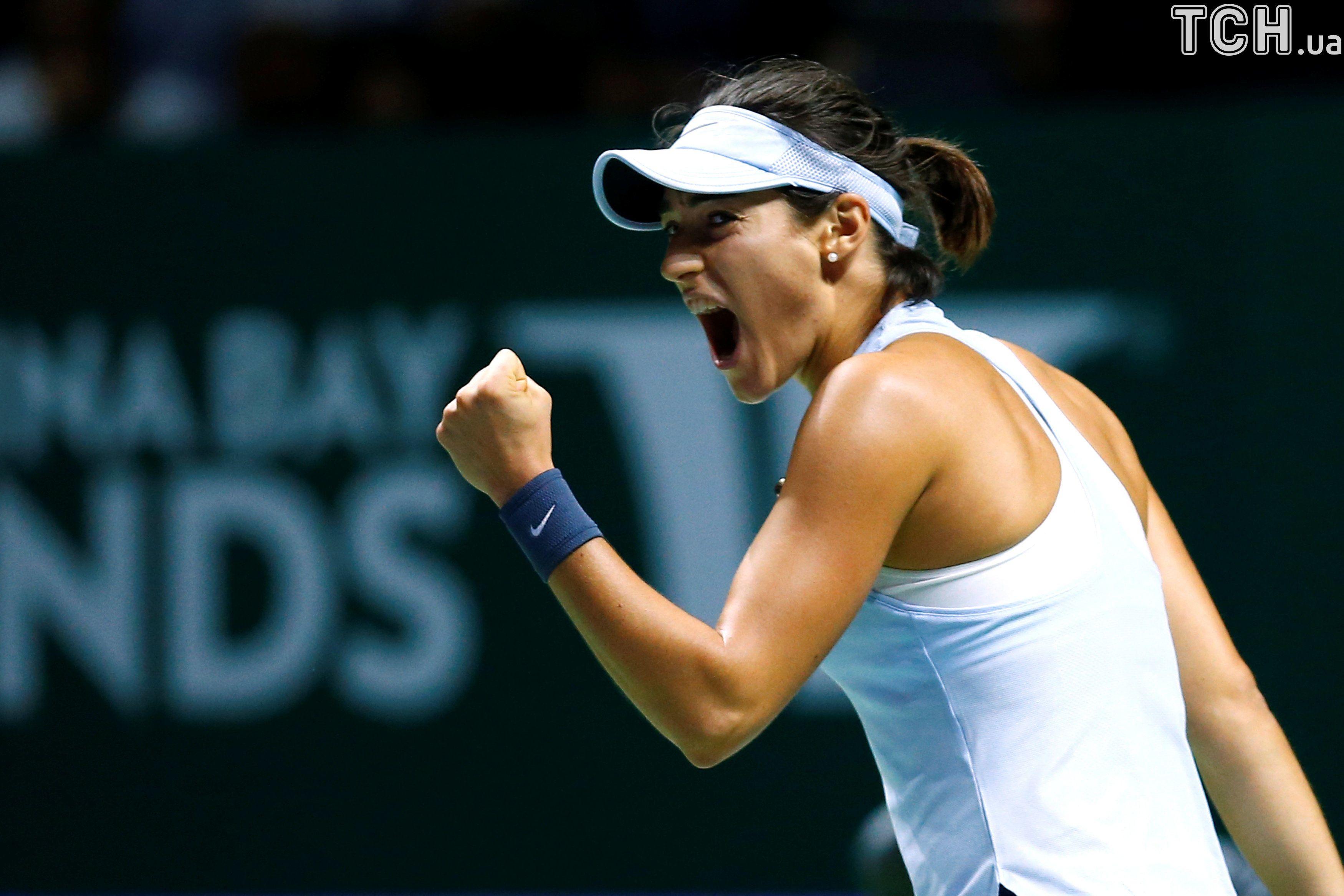 Підсумковий турнір WTA. Еліна Світоліна— Сімона Халеп