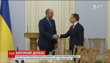 Представник місії ОБСЄ в Україні спрогнозував неминуче загострення ситуації на Донбасі